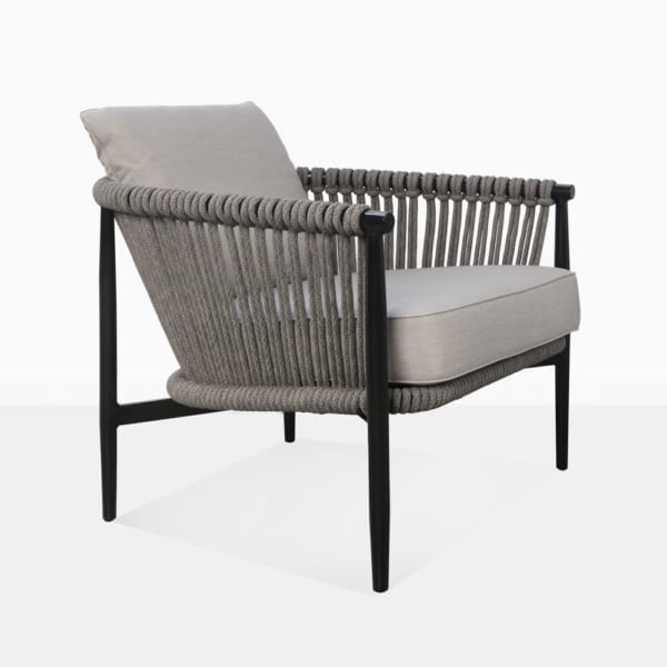 Archi Rope And Aluminum Outdoor Relaxing Chair