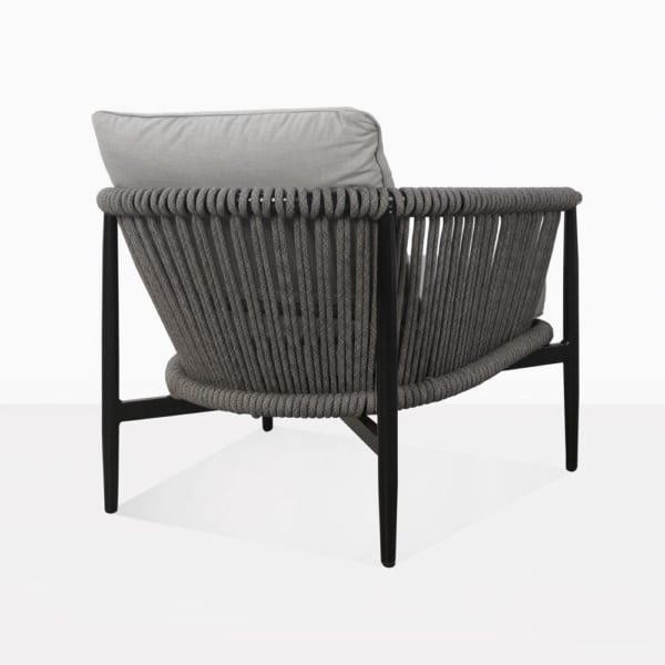 Archi Rope And Aluminum Outdoor Relaxing Chair Back