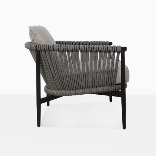 Archi Rope And Aluminum Outdoor Relaxing Chair Side