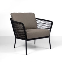 lola outdoor rope club chair - relaxing chair