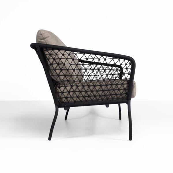 side weave - lola outdoor rope sofa - side