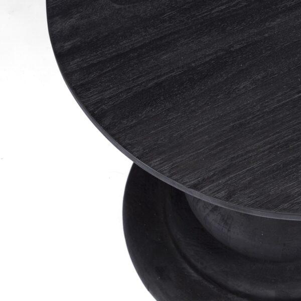 black outdoor table top - sumatra