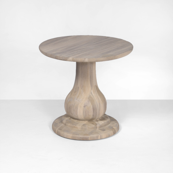 sumatra outdoor natural side table (low)