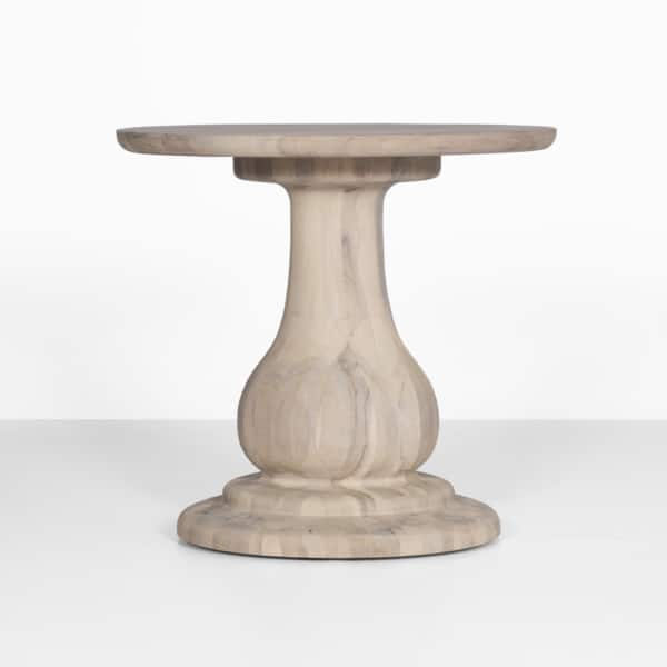 outdoor natural side table - sumatra