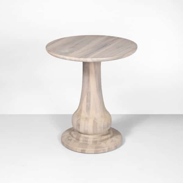 sumatra outdoor natural side table (tall)