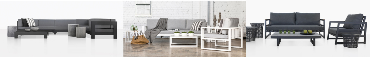aluminum deep seating collections