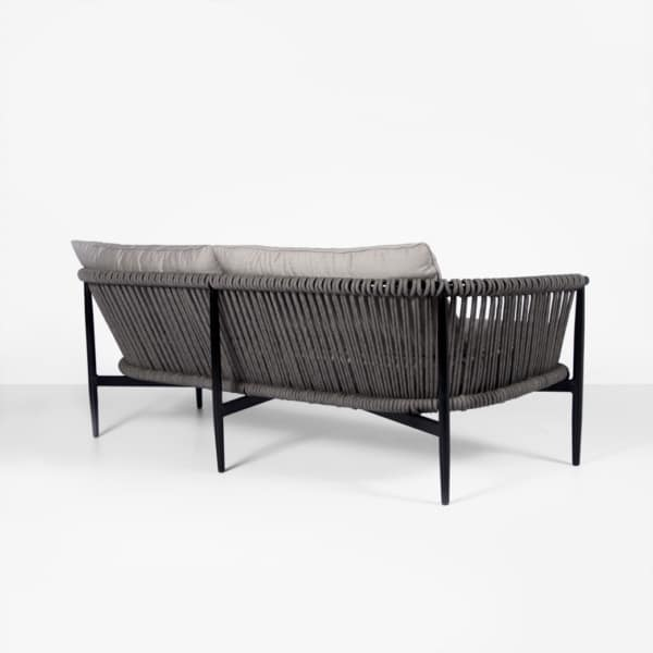 back angle view - rope sofa - archi