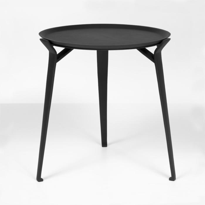 dorsett patio table in black