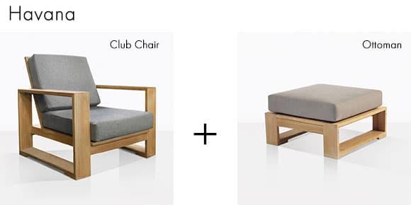 Havana Premium Teak Outdoor Lounge Chair