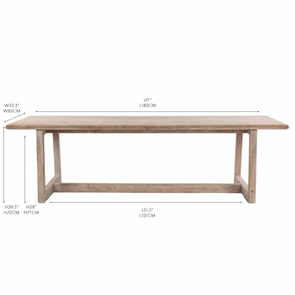 outdoor furniture teak table