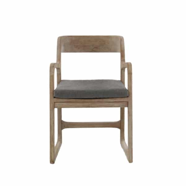 teak outdoor chair with arms