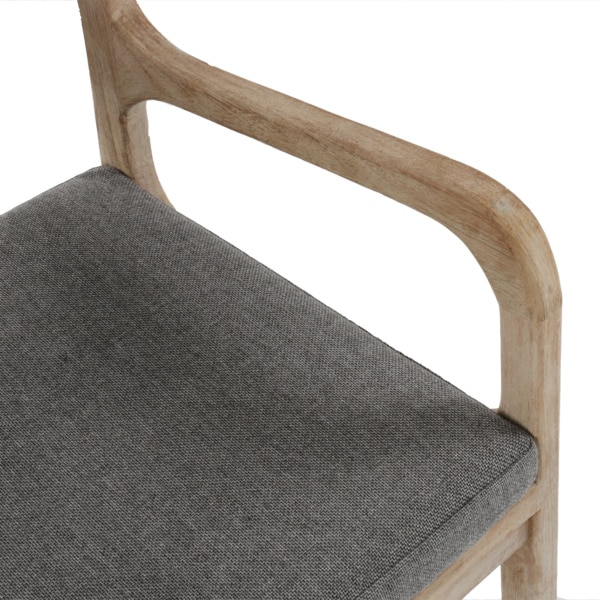 grey cushion - Emily outdoor chair