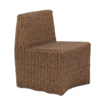 Albert Outdoor Wicker Dining Side Chair