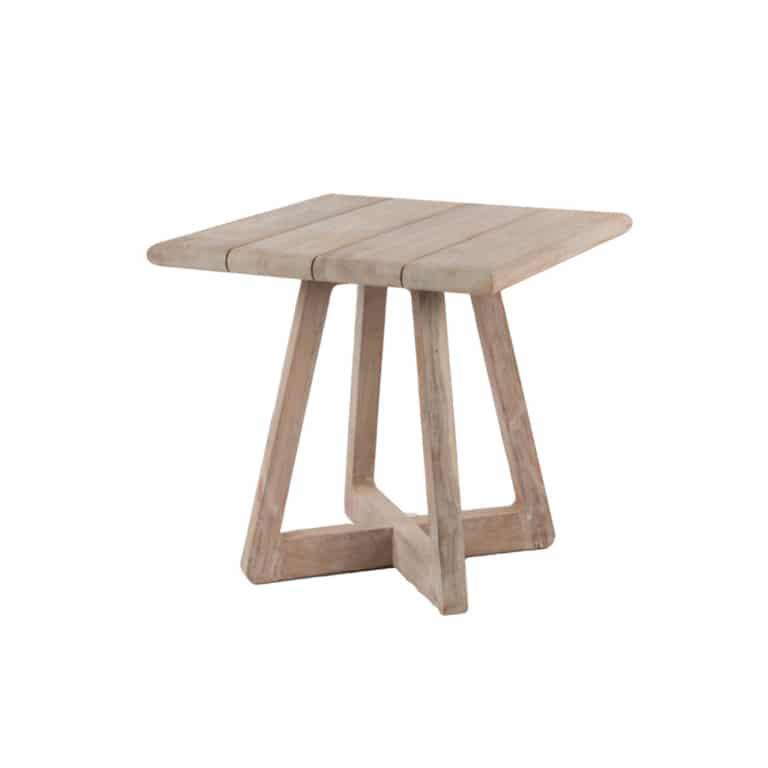 Angus Outdoor Reclaimed Teak Bistro Table