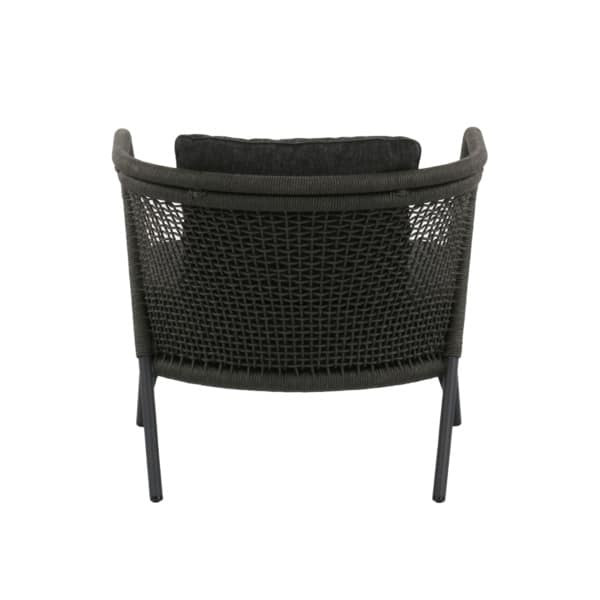 Butterfly Rope Relaxing Chair charcoal gray