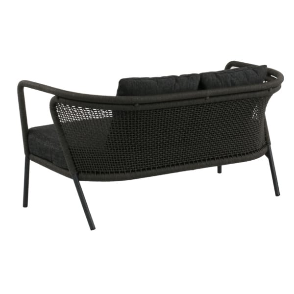 Butterfly Sofa charcoal gray