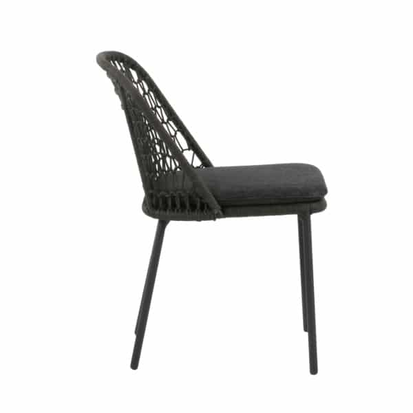 dark wicker chair