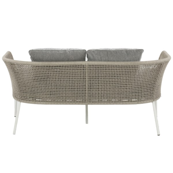 white wicker couch