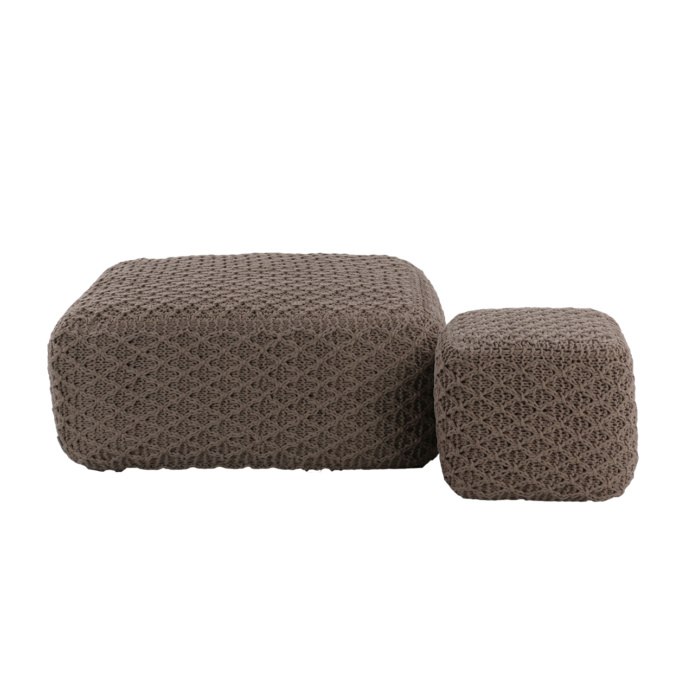 Studio Four Square Poufs