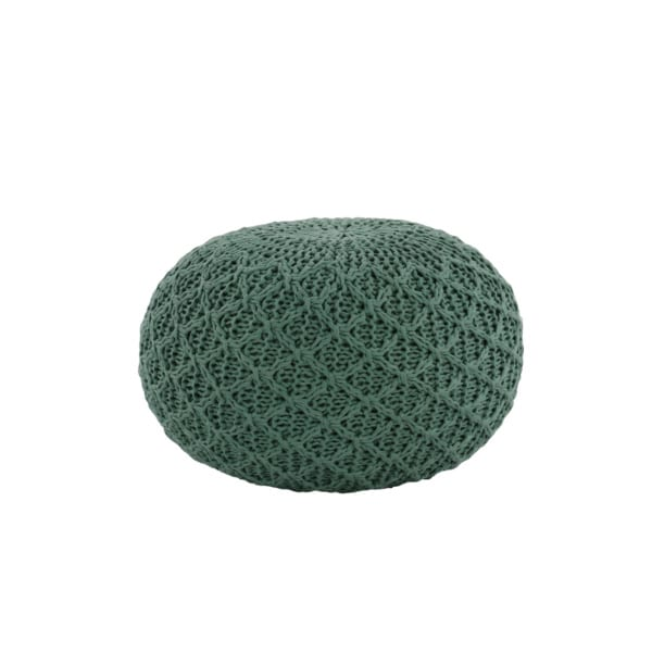 small outdoor pouf