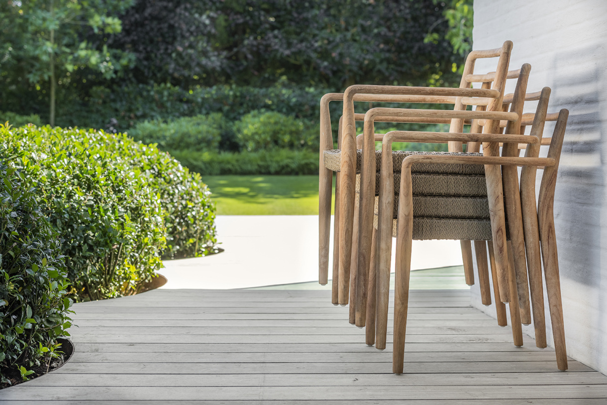 Stackable Dining Chairs - outdoor patio furniture