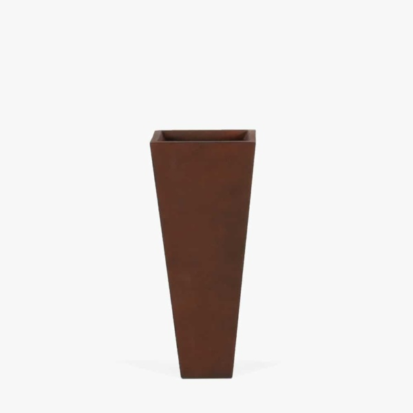 Bishop-Outdoor-Concrete-Square-Planter-Low-Copper