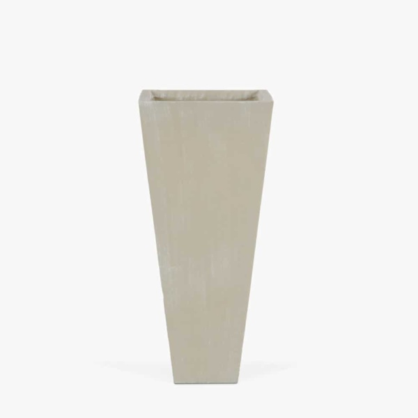 Bishop-Outdoor-Concrete-Square-Planter-Medium-Antique-White