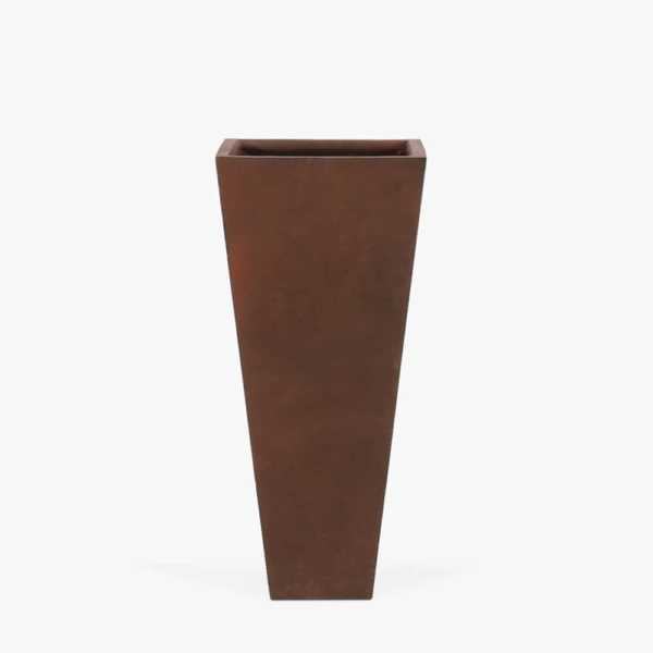 Bishop-Outdoor-Concrete-Square-Planter-Medium-Copper