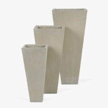 Bishop-Outdoor-Concrete-Square-Planter-Set-Antique-White