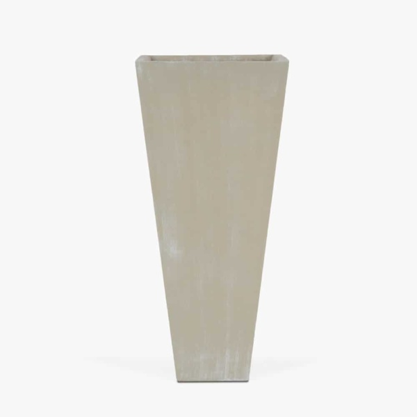 Bishop-Outdoor-Concrete-Square-Planter-Tall-Antique-White
