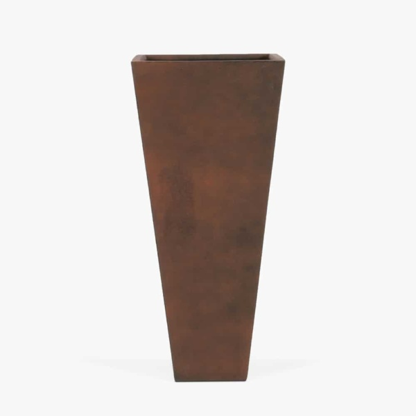 Bishop-Outdoor-Concrete-Square-Planter-Tall-Copper
