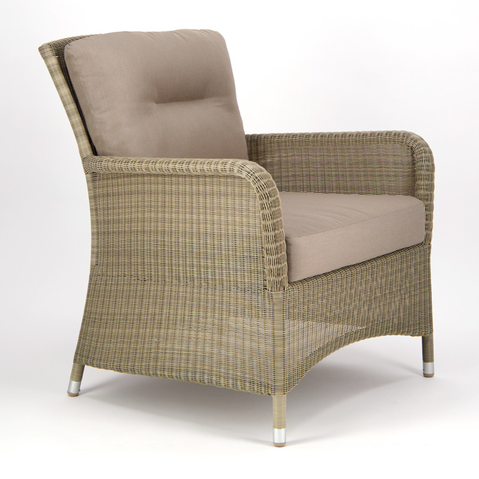 Gilbert Occasional Relaxing Chair Seaside - Angle View
