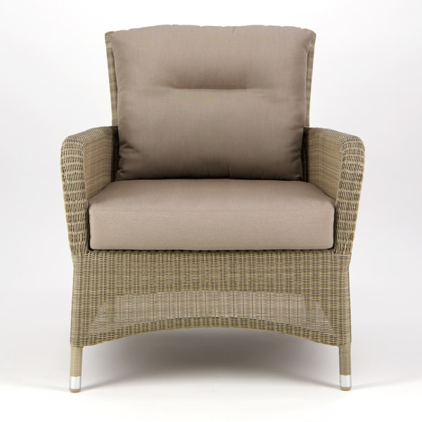 Gilbert Occasional Relaxing Chair Seaside - Front View