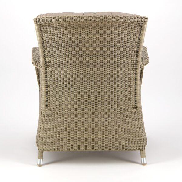 Gilbert Occasional Relaxing Chair Seaside - Rear View
