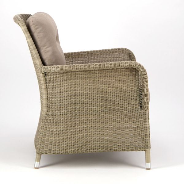Gilbert Occasional Relaxing Chair Seaside Side View