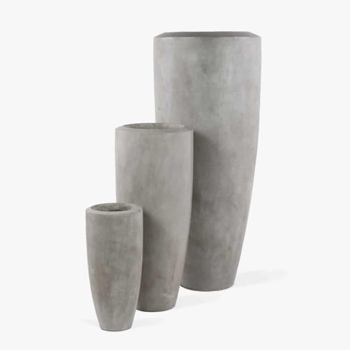 Jimbo Concrete Planter - Set