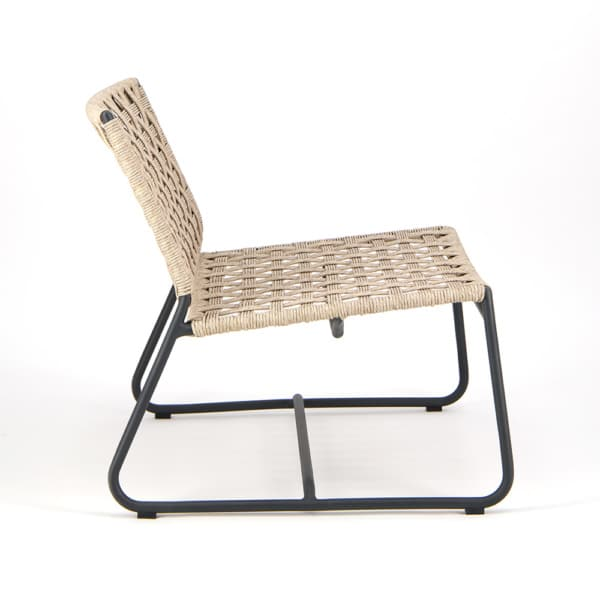Mayo Outdoor Relaxing Chair - Side View