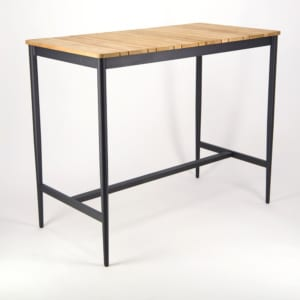 Noble Outdoor Bar Table - Angle View