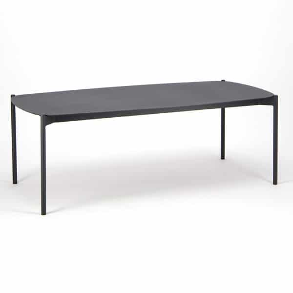Renovate Outdoor Coffee Table Charcoal - Front View