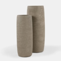 Santorini-Concrete-Outdoor-Planter-Set-Light