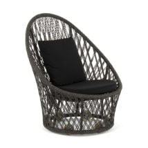 Sunai Open Weave Relaxing Chair - Angle View