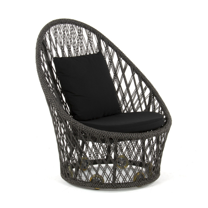Sunai Open Weave Relaxing Chair - Angle View
