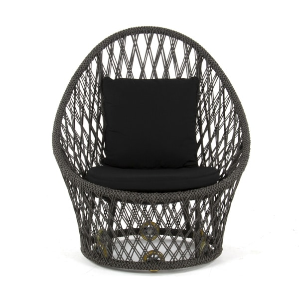 Sunai Open Weave Relaxing Chair - Front View
