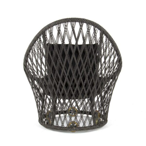 Sunai Open Weave Relaxing Chair - Rear View