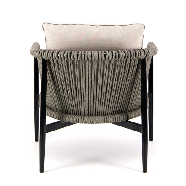 Archi Rope Relaxing Chair - Rear View