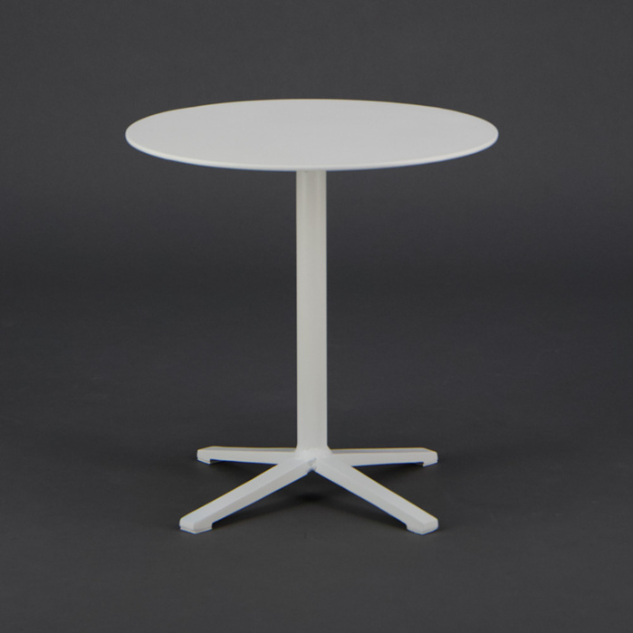 Nosh Outdoor Aluminum Low Side Table White