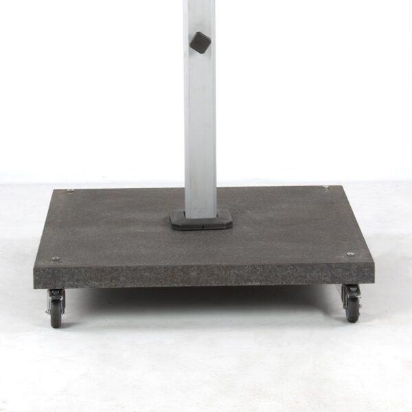 caribbean granite umbrella base 180 lb front view