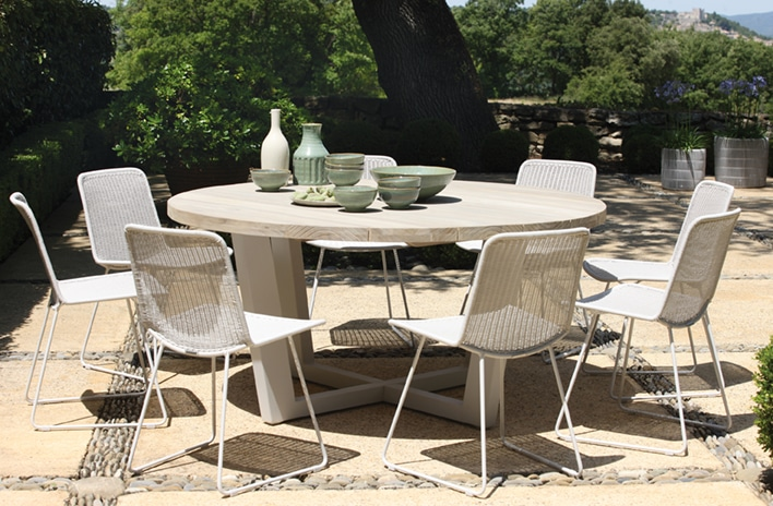 Luxury Outdoor Dining Sets for Eight