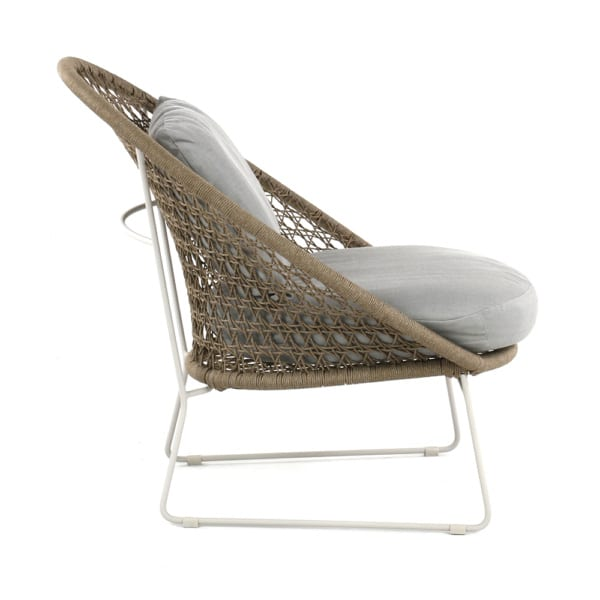 basket-outdoor-rope-relaxing-chair-camel-side-view