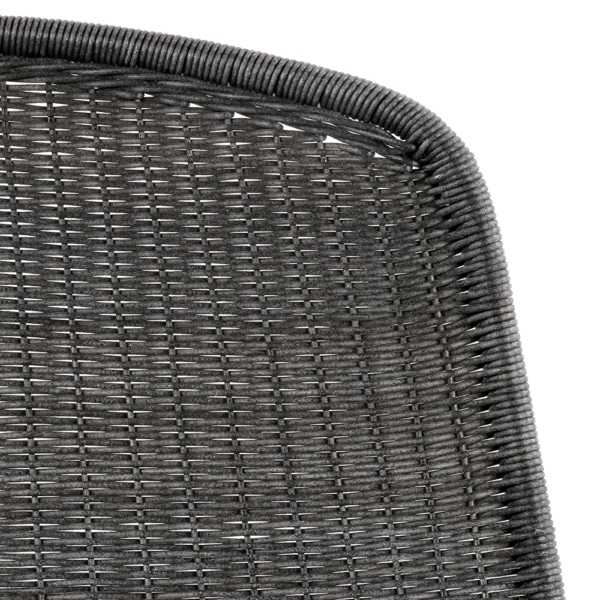 joe-outdoor-wicker-dining-side-chair-coal-closeup-view